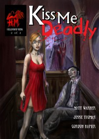Cover art for Kiss Me Deadly Issue 2